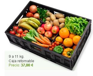 Esta caja de frutas y verduras es de http://www.yoeco.es