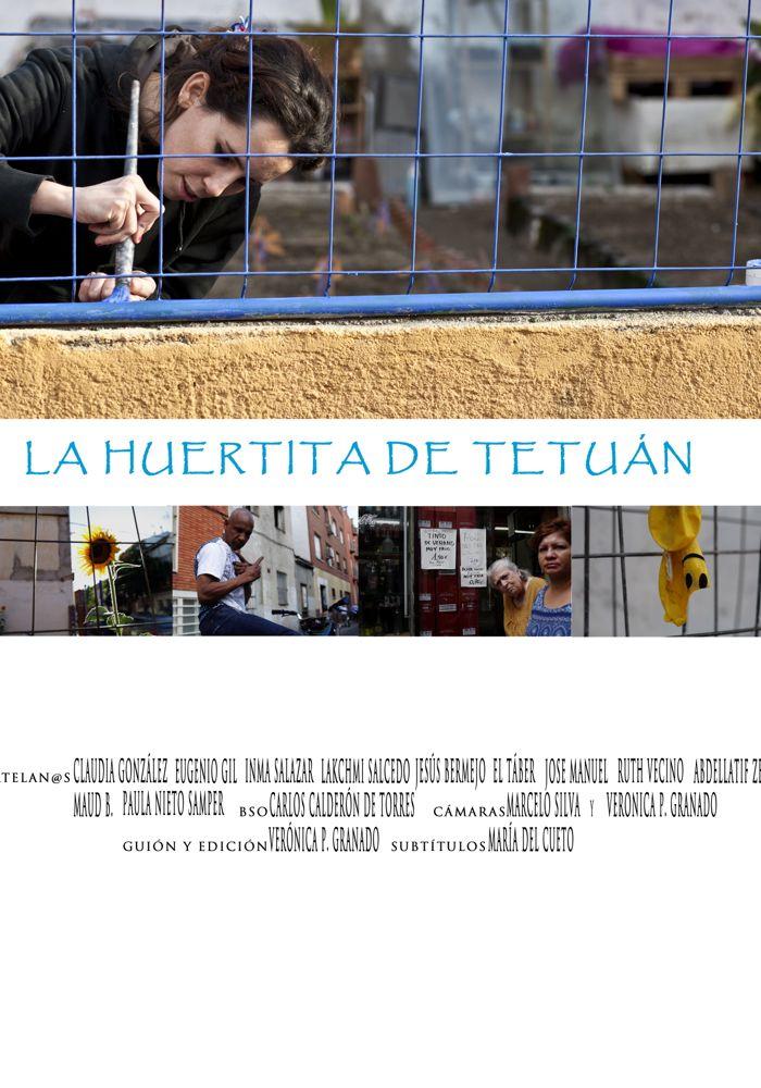 """Cartel de """"La huertita de Tetuán"""""""