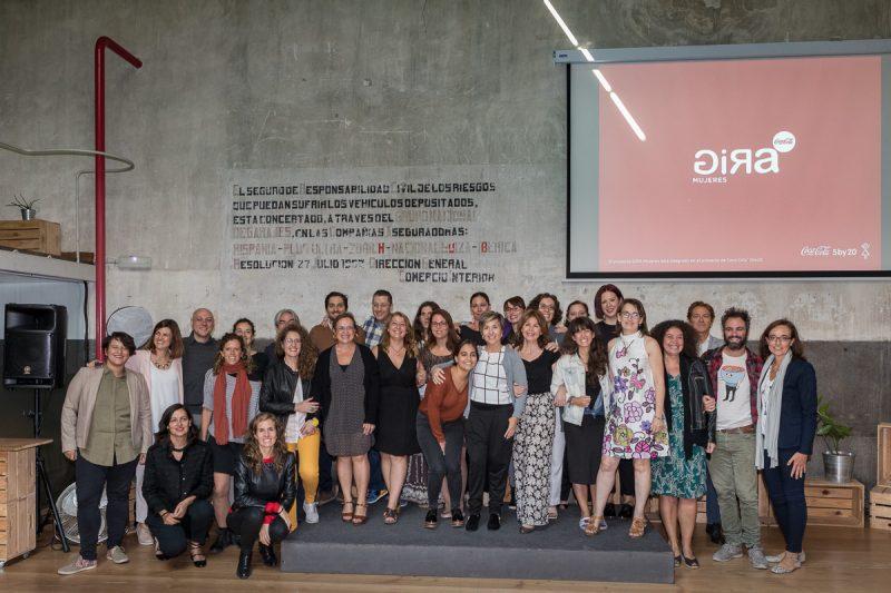 Las finalistas y las organizaciones GIRA Mujeres Coca-Cola