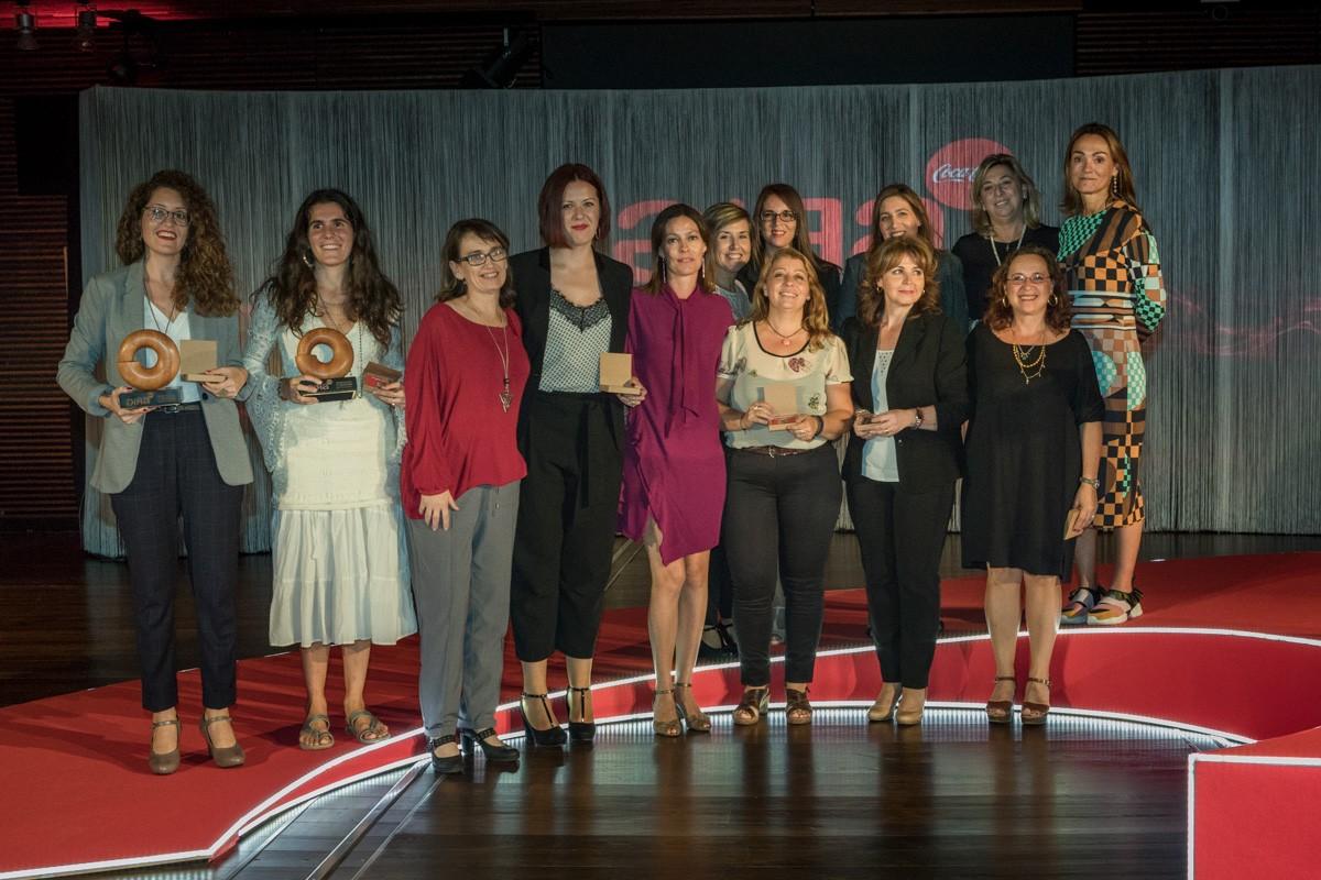 Las finalistas y ganadoras Coca-Cola Gira Mujeres