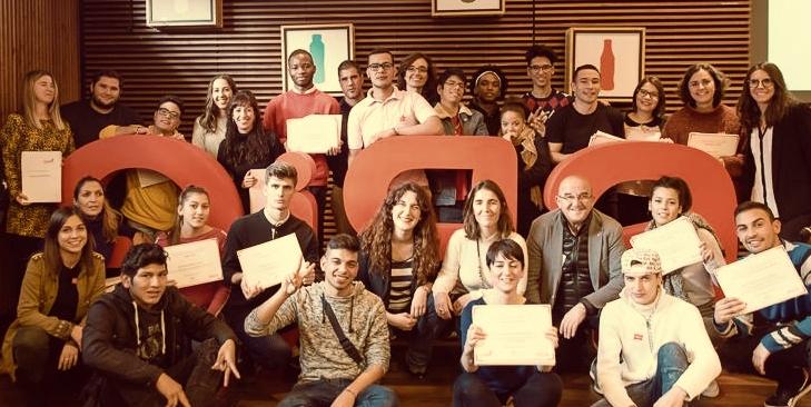 Encuentro cierre 2018 GIRA Jovenes CocaCola